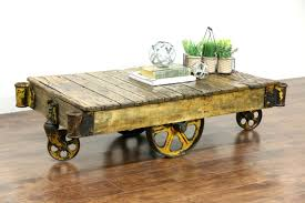 coffee table coffee table project descriptionindustrial casters on