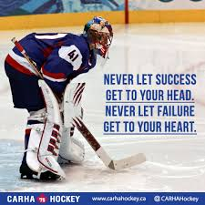 Hockey Goalie Memes - inspirational hockey quotes like these quotes share them on