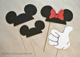mickey mouse photo booth free printable mickey mouse gloves number 2 free clip