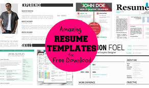 resume free cv resume templates psd awesome free resume temples
