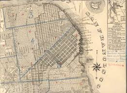 San Francisco Downtown Map by 110 Years Ago Images From San Francisco U0027s Devastating 1906