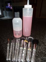 mac makeup brush cleaner knock off 1 cup distilled water 1 4 cup