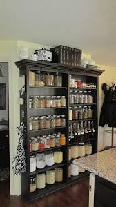 Kitchen Storage Pantry Cabinets Best 25 Bookshelf Pantry Ideas On Pinterest Wood Crate Shelves