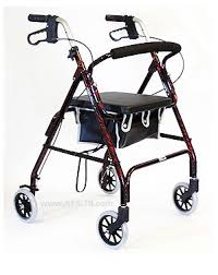 senior walkers with seat walker roller seat