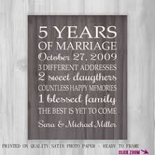 5th wedding anniversary ideas anniversary gift 5 years forever to go anniversary gift it all
