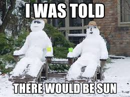 Winter Storm Meme - i was told there would be sun australian snow storm meme meme