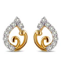 daily wear diamond earrings sanskruti diamond glam daily wear studs buy sanskruti diamond