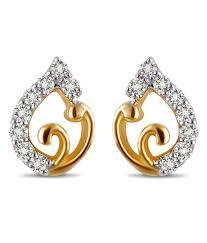 daily wear diamond earrings sanskruti diamond glam daily wear studs buy sanskruti diamond