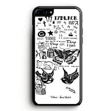 1d harry styles tattoos iphone 7 plus case yukitacase com