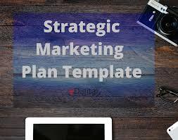 best marketing strategy plan template word edigital digital