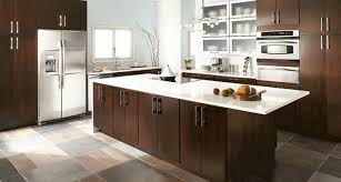 kitchen ideas with brown cabinets harmonious look of dark brown kitchen cabinets zachary horne homes