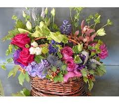 english garden basket in north hollywood ca bent willow florist