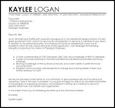 architectural drafter cover letter sample livecareer