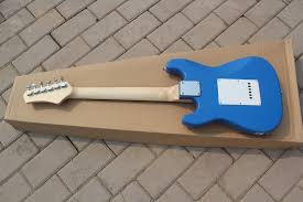 three colors can be choosed children electric guitar with 2