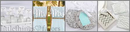 silver party favors silver wedding favors silver wedding theme