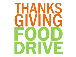 thanksgiving food drive challenge
