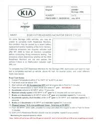 2009 kia borrego drive cycle i apologize if this question has