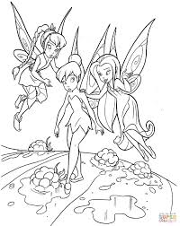 teaching tinkerbell coloring page free printable coloring pages