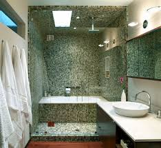 Favorite Bathroom Paint Colors - small bathroom design with separate bath and shower bathrooms