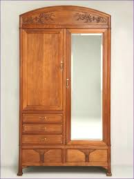 White Vintage Armoire Armoire Mirror Armoire Wardrobe White With Painted 1 Door Main