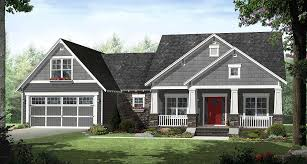4 Bedroom Craftsman House Plans | 4 bedroom craftsman with smart looks 51116mm architectural