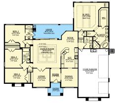 mediterranean floor plans 4 bed mediterranean house plan with lanai 82192ka