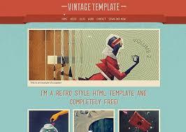 free portfolio templates design pack premium html templates