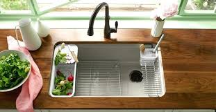 kohler undermount stainless steel kitchen sinks kitchen sink faucets