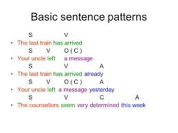 sentence pattern exles s v do phrases and clauses noun phrases expressions in which nouns form
