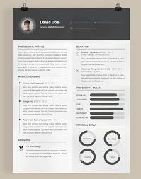 graphic design resume templates graphic designer resume template
