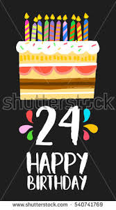 24 Birthday Stock Images Royalty Free Images U0026 Vectors Shutterstock