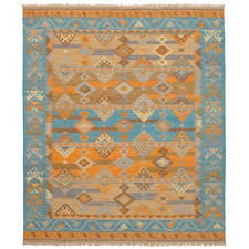 Area Rugs With Turquoise And Brown Turquoise And Orange Area Rug Wayfair