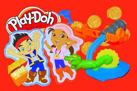 play doh jake neverland pirates treasure creations