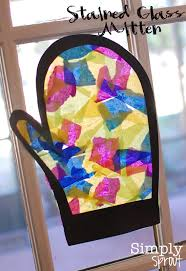 month of joy stained glass mitten simply sprout