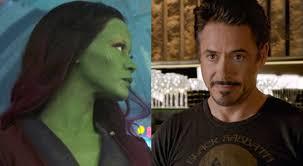 will gamora and tony stark hook up in avengers infinity war