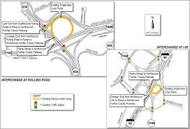I 95 Map Fairfax County Parkway Interchange Improvements