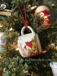 12 days of disney day 12 starbucks disney ornaments