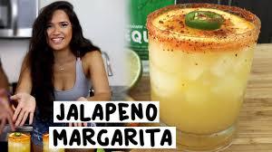 jalapeno margaritas jalapeno margarita tipsy bartender youtube