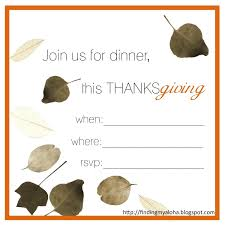 beautiful thanksgiving invites templates festooning documentation