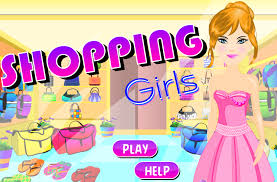 coloring cool games kids shopping coloring