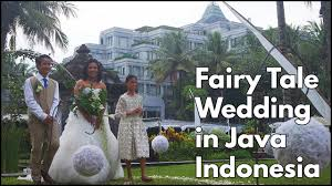 wedding dress subtitle indonesia fairy tale wedding on the beautiful island of java indonesia