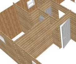 soubassement bois kit chalet dock du faubourg
