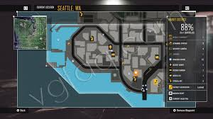 Seattle Districts Map by Infamous Second Son Districts Guide Vgfaq