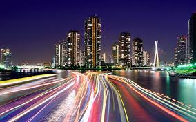 Cityscape Wallpaper by Love At The Speed Of Life City Lights Tokyo And Wallpaper