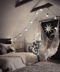 hammock chair for bedroom the hammock chair looks fun and i love the lights home ideas