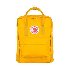 warm yellow fjallraven kanken classic backpack warm yellow designs of sweden