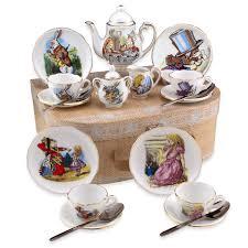 tea cup set in medium tea set in the teapot shoppe inc