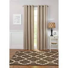 Panel Homes by Better Homes And Gardens Solid Basketweave Grommet Curtain Panel
