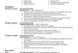 Housekeeper Resume Sample by Housekeeping Aide Resume Sample Housekeeping Aide Hotel And