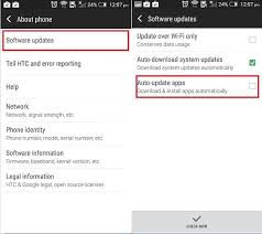 how to turn auto update on android enable disable auto update app in android play store